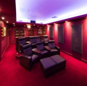 Home Cinema Personalised Seating Area