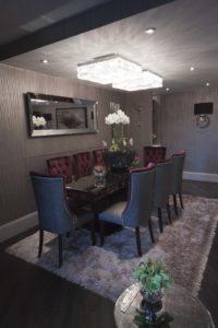 dining room audio visual