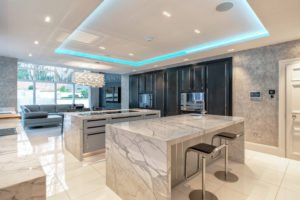 Kitchen smart home and lighting